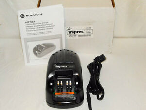 Motorola Impres Charger Single Unit Rapid Rate Model Wpln4114ar nib