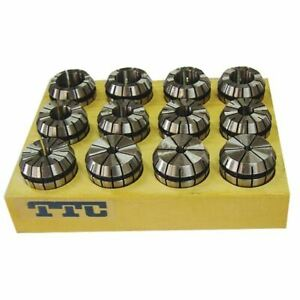 Ttc Ter20s 12 Pc 1 16 1 2 Er20 Collet Set