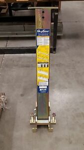 Miller By Honeywell Sgs18 Horizontal Lifeline System Stanchion And Base Only