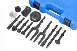 Tool Hub 9612 Special Vibro Vibration Chisel Air Hammer Adaptor Set 13 Pc
