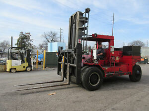 Taylor big Red Forklift Capacity 22 000 Lbs