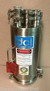 Dci 9 5 Litter Stainless Surge Vessel 2008 Mawp 0 Psi 100 f Mdmt 20 F