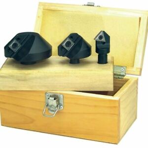 Ttc 3 Pc 90 Indexable Countersink Set inserts Not Included