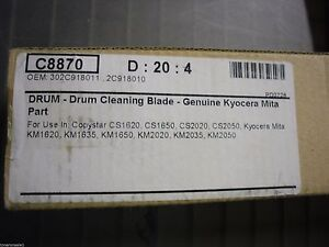 Drum Cleaning Blade For Copystar Cs1620 Cs1650 Cs2020 Cs2050 2c918010 302c918011