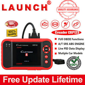 Launch Creader Crp123 Scan Diagnostic Tool Code Reader Abs Srs Engine As Vii