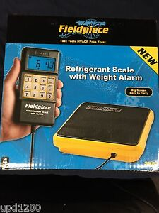 Fieldpiece Srs1 Refrigerant Scale W Weight Alarm