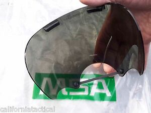 Msa Tinted smoke Lens Outsert for Millennium Cbrn Gas Mask Size M l 10008908