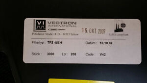 10 Pcs Tfs456h Vectron 1 Functions 456mhz Saw Filter