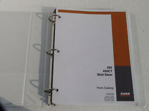 Case 450 450ct Skid Steer Parts Catalog Manual Book