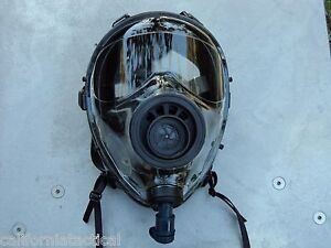 Sge 400 40mm Nato Gas Mask W drinking System Nbc cbrn Filter Exp 12 2022 New
