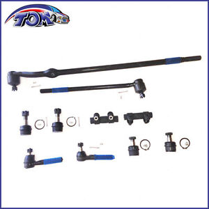 Brand New 10pc Front Suspension Kit For 4wd Ford F 150 Bronco