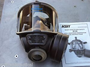 Scott M120 Cbrn 40mm Nato Nbc Gas Mask Size Small 013014