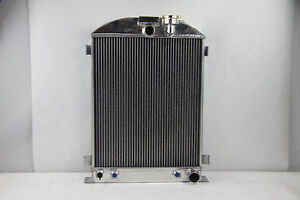 1930 1931 Ford Model A Radiator Chevy V8 Engine 28 Inch High W Cooler