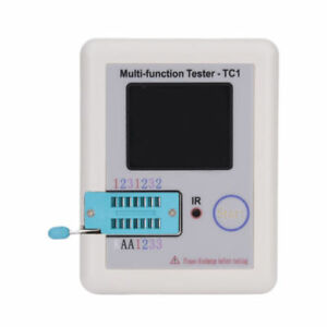 Lcr tc1 Tft Screen Display Multi functional Tft Transistor Capacitance Tester