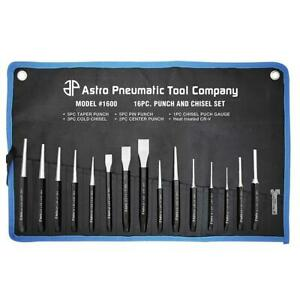 16 Piece Punch And Chisel Set Astro Pneumatic Ap 1600
