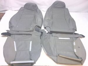 2006 09 Original Ford Ranger Fx4 Gray Leather Oem Seat Covers