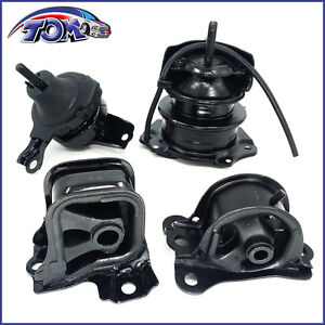 Brand New Set Of Engine Motor Mounts For 98 02 Honda Accord 2 3l