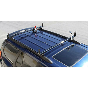 Silver J2000 Ladder Roof Van Rack 50 Cross Bar fits Factory 1 Tracks