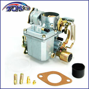 New 34 Pict 3 Carburetor 12v Electric Choke For Vw Beetle 113129031k