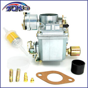 New 34 Pict 3 Carburetor With Hardware 12v Electric For Vw Beetle 113129031k