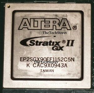 Altera Stratix Ii Gx Fpga Ep2sgx90ef1152c5n Used On Board For Chip Recovery