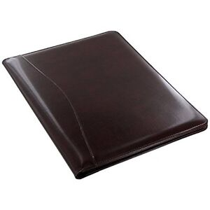 Leather Writing Portfolio Pad Writing Presentation Folder Business Case Document