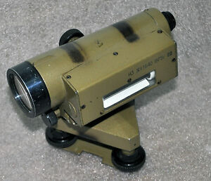 Russian Soviet Surveying Level N 3 Theodolite Transit Surveyor 1975