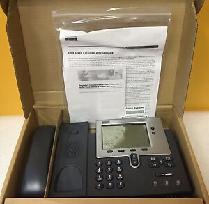 Cisco Cp 7940g 2 Port Ethernet Switch Hac Handset Unified Ip Telephone