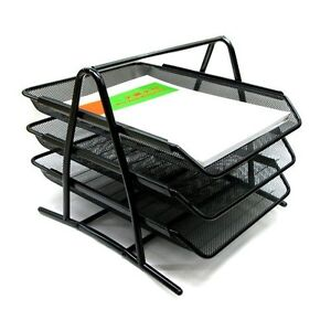 Office Papers Literature Organizer A4 Documents Filing Cabinet Shelf Rack Stand