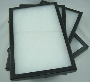 Four Jewelry Display Case Riker Mount Display Box Shadow Collection 8 X 12 X 7 8