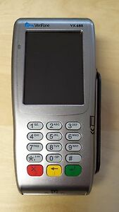 New Verifone Vx680 3g Gprs Wireless Credit Card Terminal open And Unlocked
