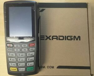 New Exadigm Nx2200 Cdma Wireless Credit Card Terminal