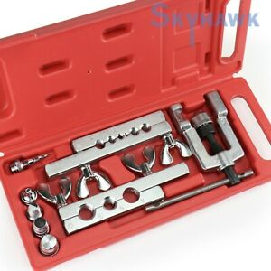 14 Pc Flaring Tool Kit Water Gas Automotive Refrigeration Line And Plumbing