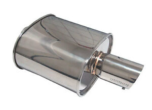 Megan Racing Moe Ss Universal Exhaust Turbo Muffler 3
