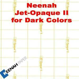 Neenah Jet Opaque Ii Heat Transfer Paper 8 5 X 11 500 Sheets