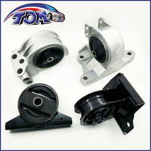 New Set Of Engine Motor Trans Mount For Mitsubishi Galant Eclipse 2 4l At