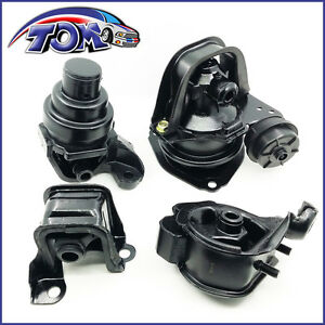 Brand New Set Of Engine Motor Trans Mounts For Honda Accord 94 97 2 2l
