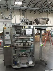 Schmucker Vertical Form fill seal Machine Model Tube S3l