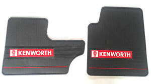 Kenworth Oem Gray Rubber Floor Mats W Logo For T600 60 T800 W900 2006 2016