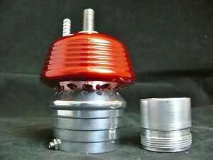 Red Very Loud Blow Off Valve For Turbo System S Max Billet Aluminum Piston Bov