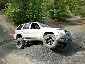 99 04 Jeep Grand Cherokee Wj Zone Offroad 4 Suspension Lift Kit J17n