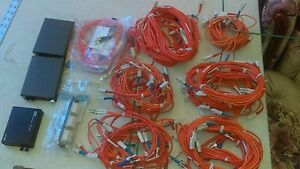 Lot Of Fiber Optic Equipment