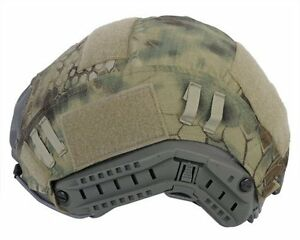 Tactical Paintball Shooting Combat Fast Helmet Cover Multicam kryptek mandrake
