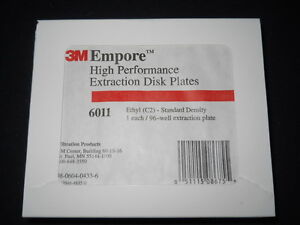 3m Empore Ethyl C2 96 well Extraction Disc Plate 6011