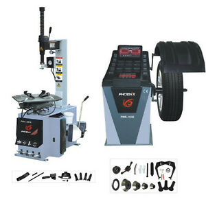 Phoenix Tire Changer Pwc 2710 Wheel Changer Pwb 1530a Balancer On Sale