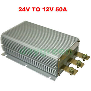 24v To 12v 100a 80a 60a 50a Step Down Dc Dc Converter Voltage Regulator Reducer