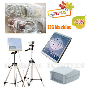 Portable Digital Eeg Mapping System Machine 16 Channel Eeg 2 Tripods Kt88