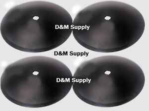 4 Pack Disc Harrow Blade 18 Plain Fits 1 X 1 1 8 Axle Fits Many Brands