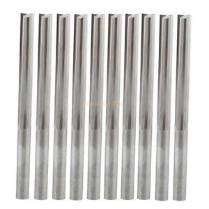 10pcs 4 32mm Two Flutes Straight Bits wood Cutters cnc Solid Carbide Cnc Router