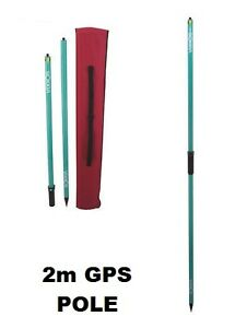 Rtk Gps 2m Surveying Rover Rod Pole topcon Trimble Sokkia Spectra Cst
